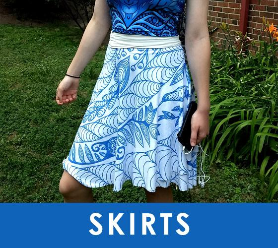 Lovescapes Designer Skirts
