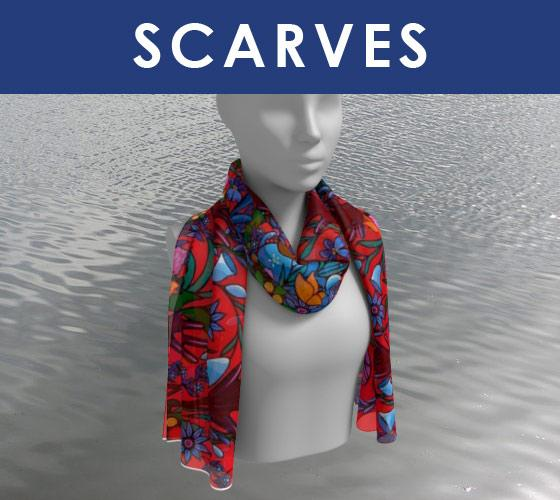 Lovescapes Designer Scarves