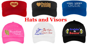 Cruise Hats and Visors