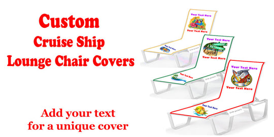 Customizable Lounge Chair Covers - Full Length