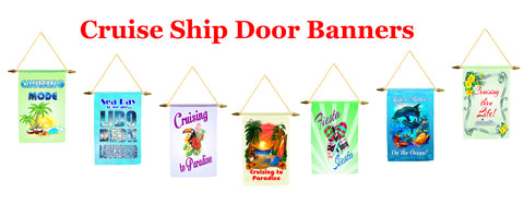 Show off your cruising spirit with these delightful cruise ship door banners. Pick a special one to display throughout your cruise or display a different ...  sc 1 st  Premier Cruise Gear & Cruise Door Banners \u2013 Premier Cruise Gear
