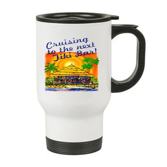 Stainless Steel Travel Mug - style 042