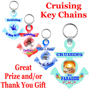 Cruise Key Chain - a great gift or prize!