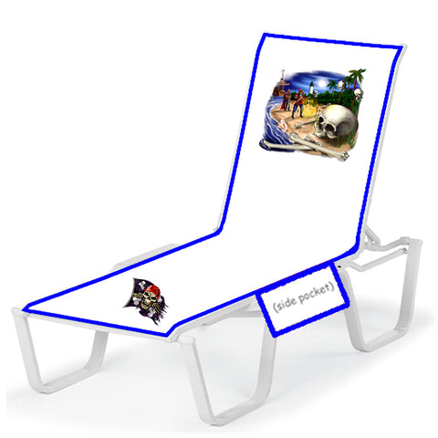 Groovy Pirate Scene Lounge Chair Cover Premier Cruise Gear Dailytribune Chair Design For Home Dailytribuneorg