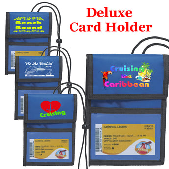 Cruise Deluxe Key Card holder - Blue