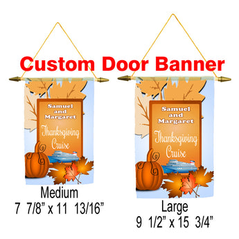 Cruise ship door banner. Custom banner available in medium or large.  sc 1 st  Premier Cruise Gear & Cruise Door Banners u2013 Premier Cruise Gear