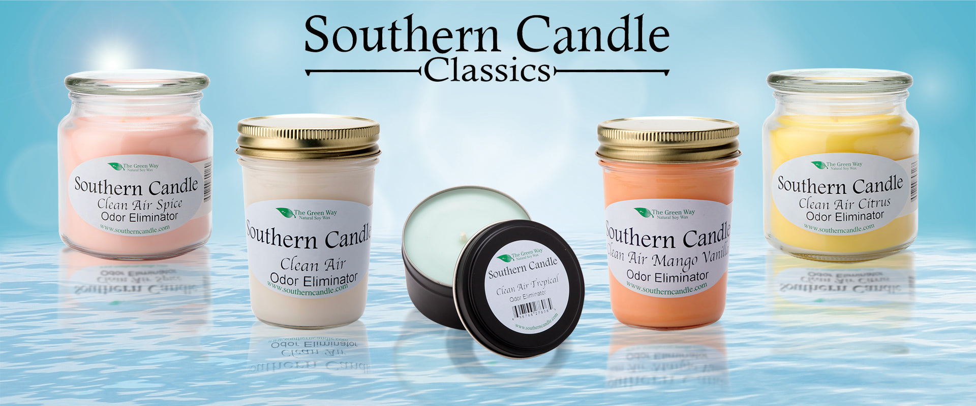 Southern Candle Classics Gift Sets Tagged Tag