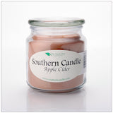 Apple Cider 16oz Decorator Jar Natural Soy Wax Candle - Southern Candle Classics