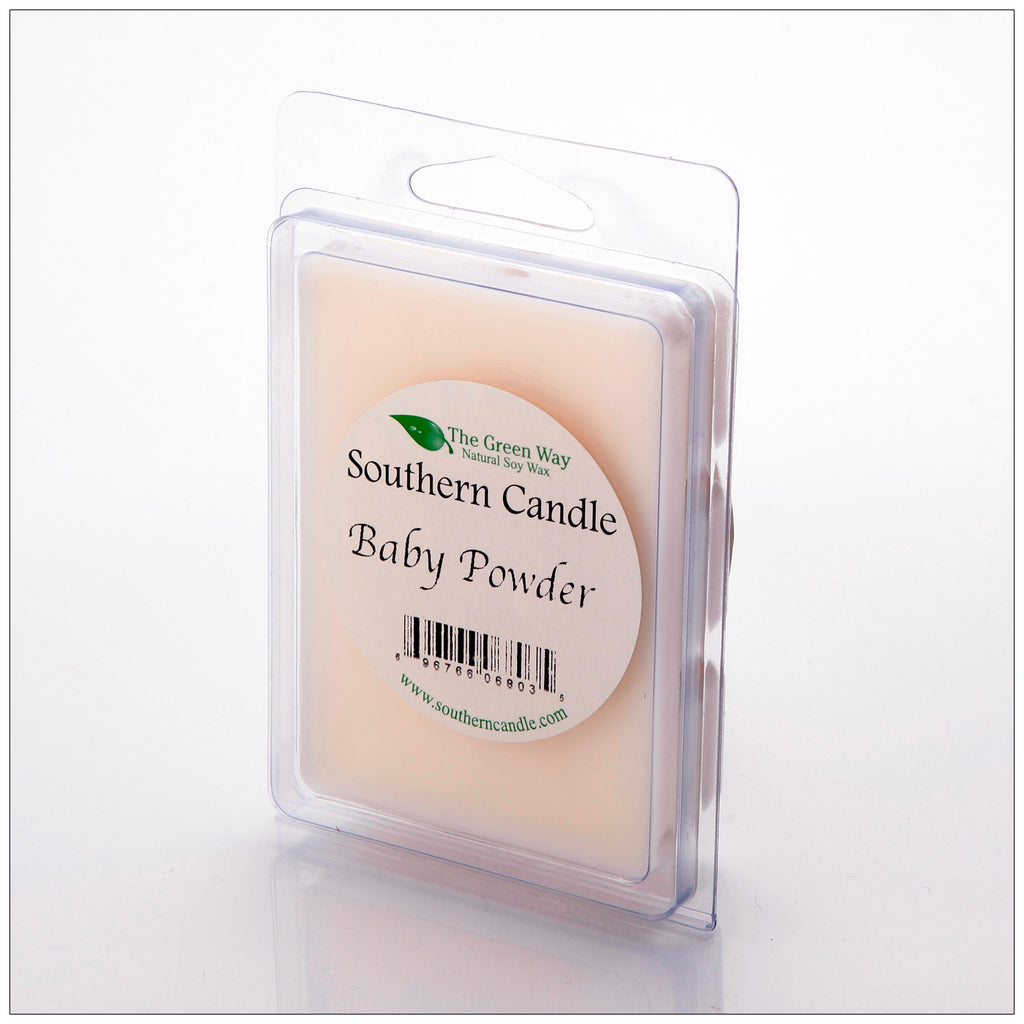 Baby Powder Break-Away Melts - Southern Candle Classics