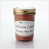 Banana Nut Bread - 8 oz Heritage Jar Natural Soy Wax Candle - Southern Candle Classics