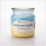 Birthday Cake 16 oz Decorator Jar Natural Soy Wax Candle - Southern Candle Classics