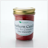 Clean Air Cinnaberry - 8 oz Heritage Jar Natural Soy Wax Candle - Southern Candle Classics