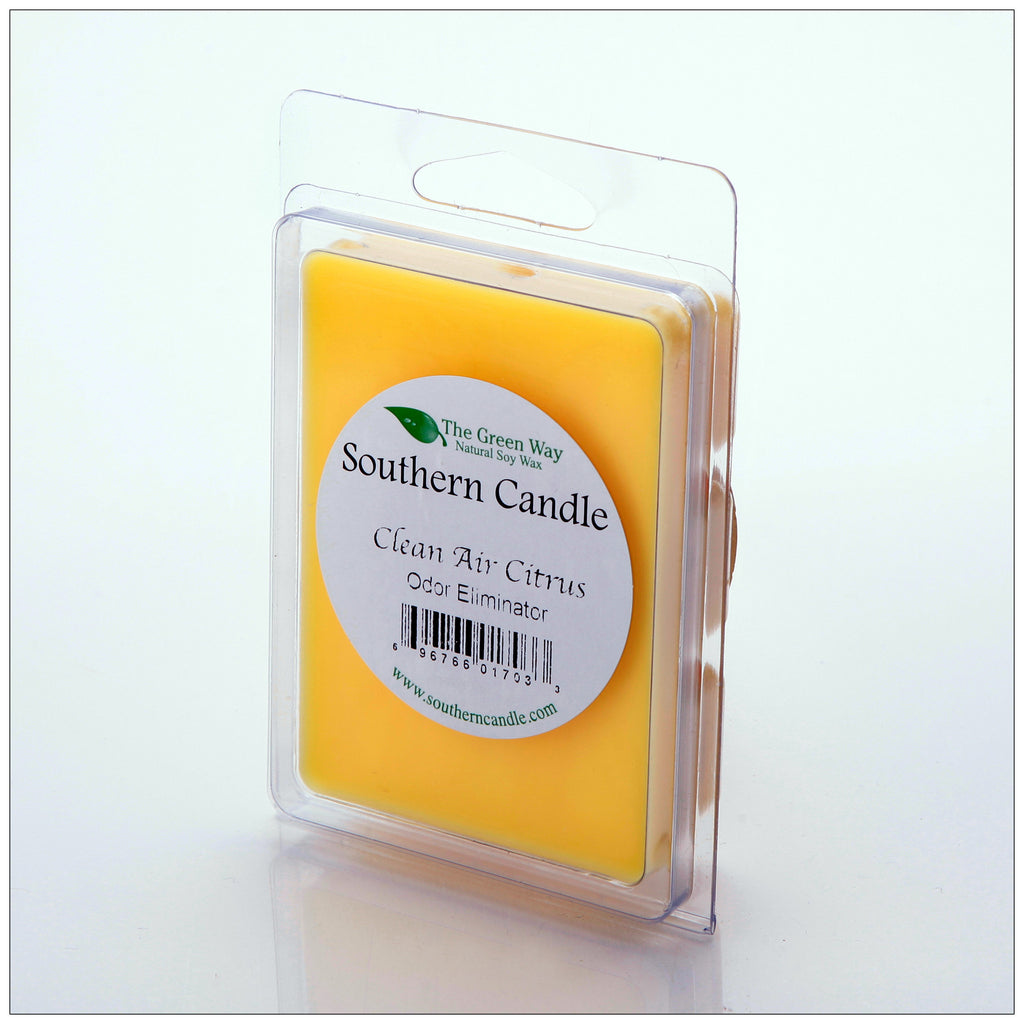Clean Air Citrus Break-Away Melts - Southern Candle Classics