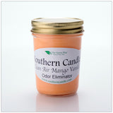 Clean Air Mango Vanilla - 8 oz Heritage Jar Natural Soy Wax Candle - Southern Candle Classics