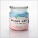 Cotton Candy 16 oz Decorator Jar Natural Soy Wax Candle - Southern Candle Classics