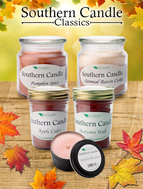 Southern Candle Classics Line Fall Gift Set - Southern Candle Classics