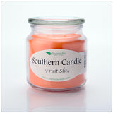Fruit Slice 16 oz Decorator Jar Natural Soy Wax Candle - Southern Candle Classics