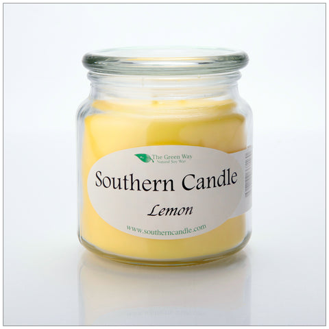 Clean Air Mango Vanilla - 8 oz Heritage Jar Natural Soy Wax Candle