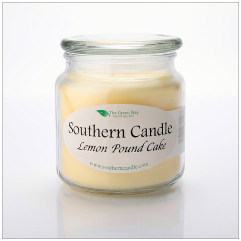 Baby Powder - 6 oz Travel Tin Natural Soy Wax Candle