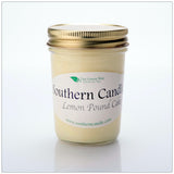 Lemon Pound Cake - 8 oz Heritage Jar Natural Soy Wax Candle - Southern Candle Classics
