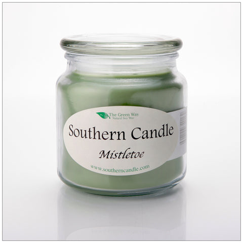 Mistletoe - 6 oz Travel Tin Natural Soy Wax Candle