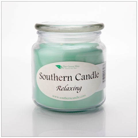 Eucalyptus - 6 oz Travel Tin Natural Soy Wax Candle