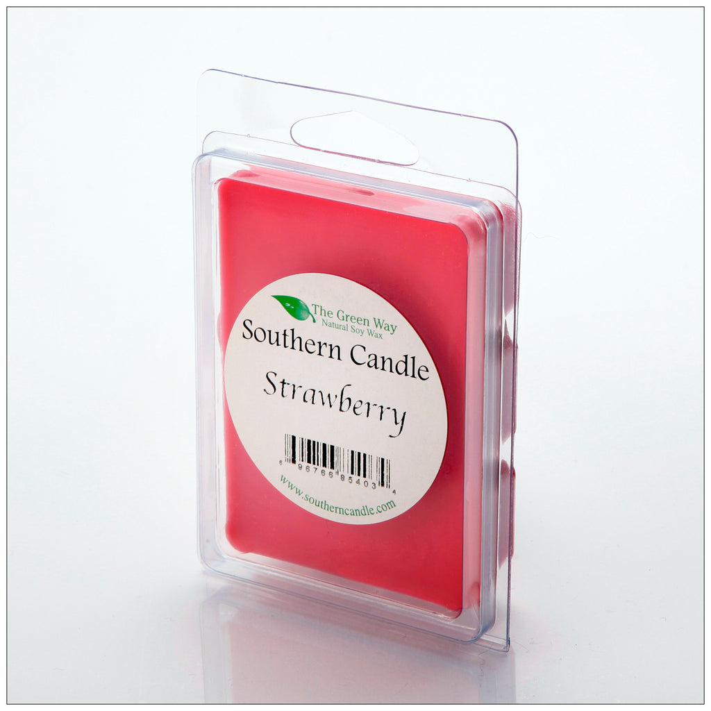 Strawberry Break-Away Melts - Southern Candle Classics
