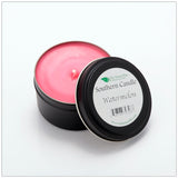 Watermelon - 6 oz Travel Tin Natural Soy Wax Candle - Southern Candle Classics