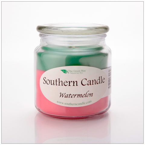Watermelon - 6 oz Travel Tin Natural Soy Wax Candle
