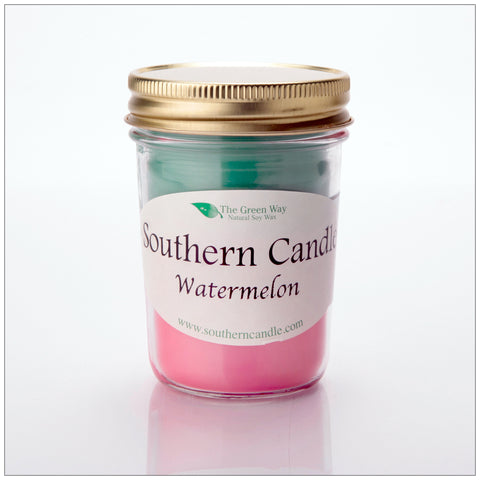 Fruit Slice 16 oz Decorator Jar Natural Soy Wax Candle