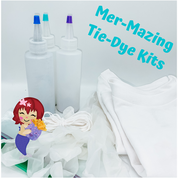 Mer-mazing Tie Dye Kit (SHIRTS NOT INCLUDED IN THIS LISTING)
