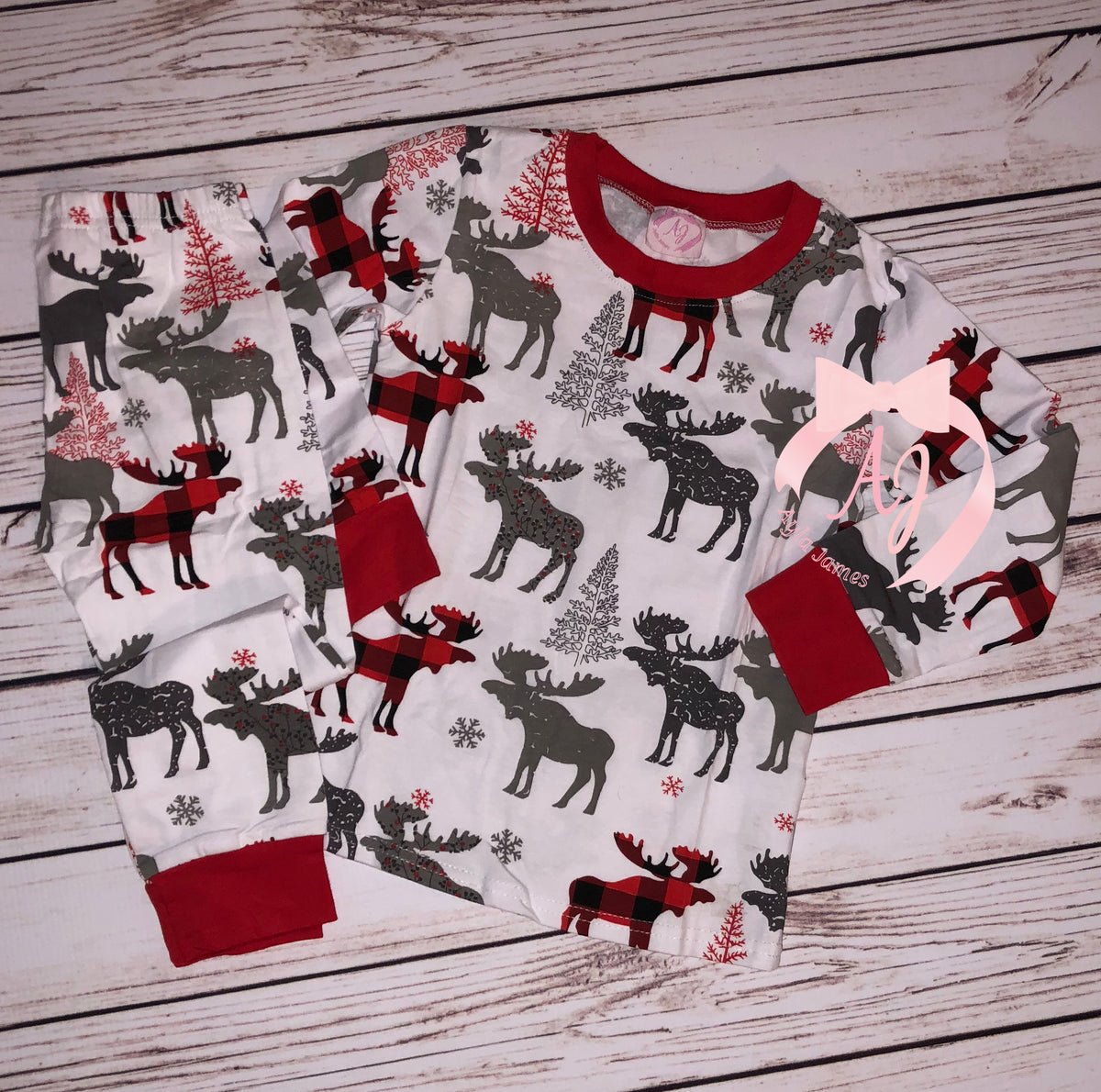 Moose Loungewear Set