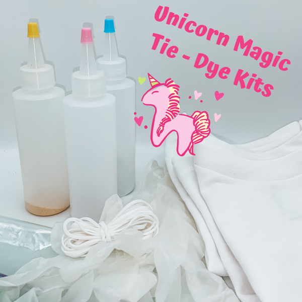 Unicorn Magic Tie-Dye Kit (SHIRTS NOT INCLUDED IN THIS LISTING)