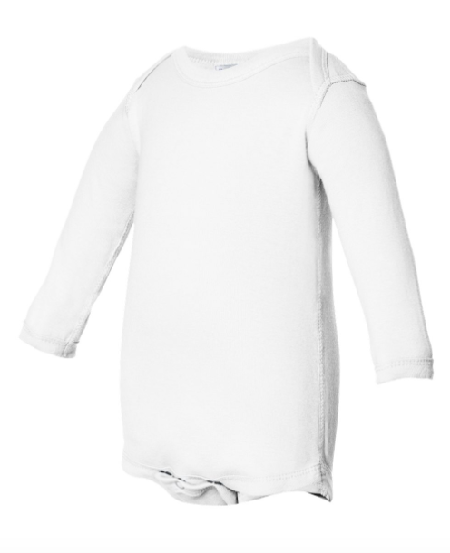 Infant Long Sleeve Baby Rib Body Suit