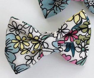 3 inch - Early Spring Floral Bow or Headband