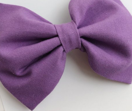 4 inch - Lavender Bow