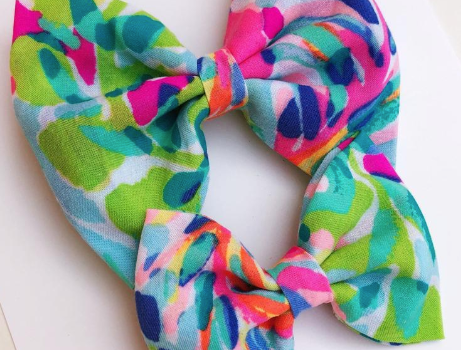 Tropical Paradise  - Bow, Headband, Hair Tie or Dog Collar Bow