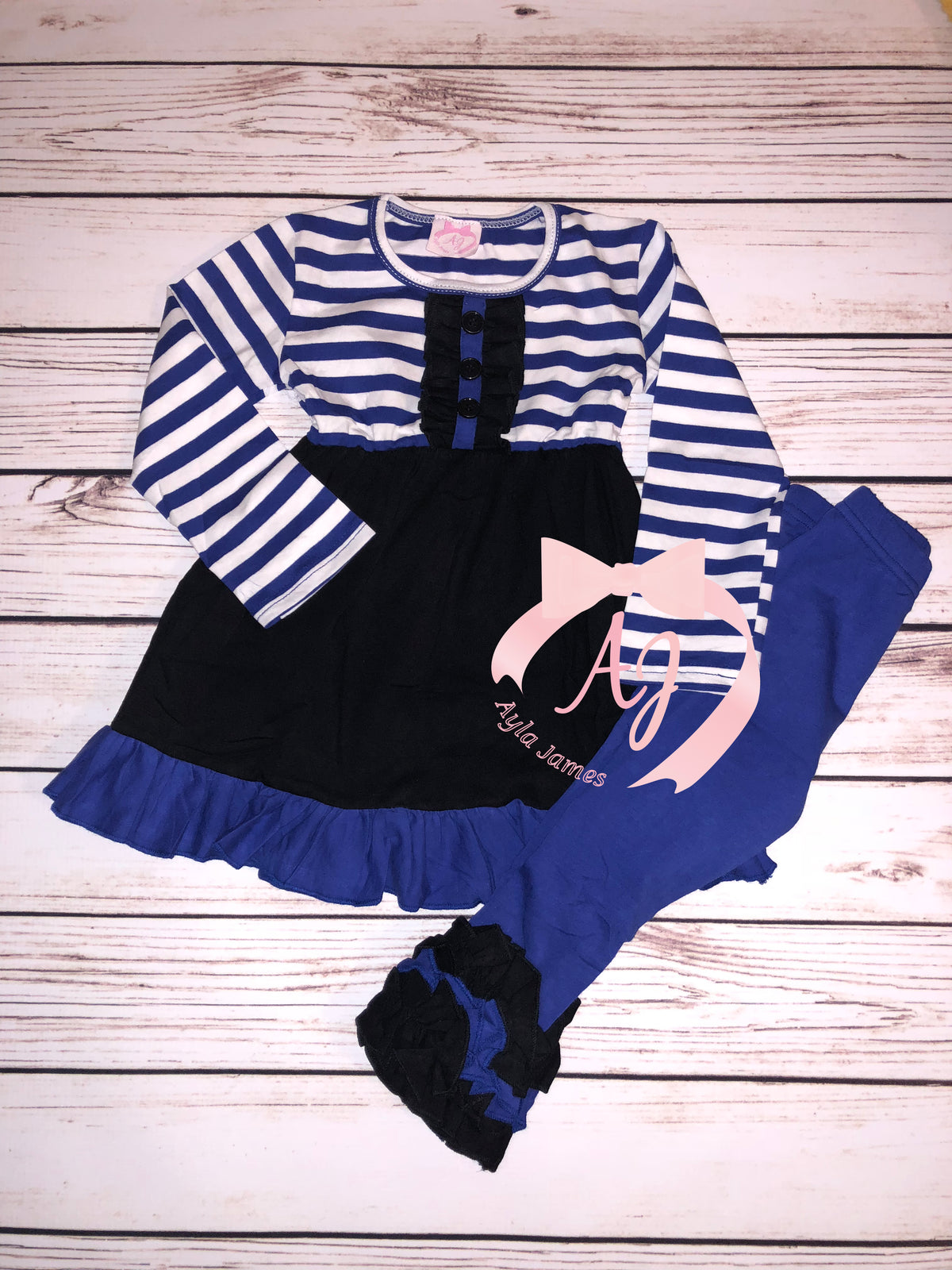 Long Sleeve Thin Blue Line Outfit