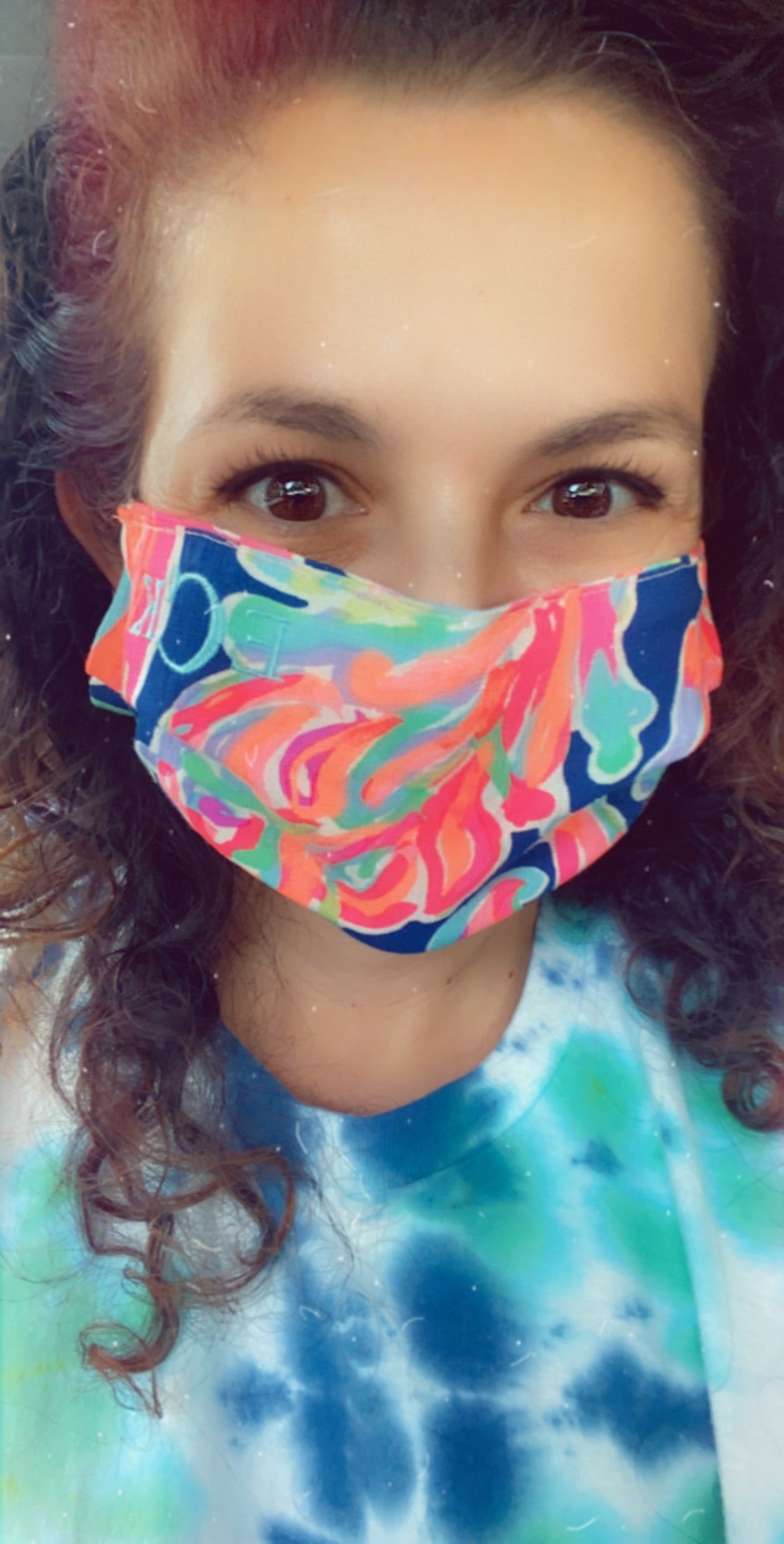 Lilly Inspire Mask with Matching Bow