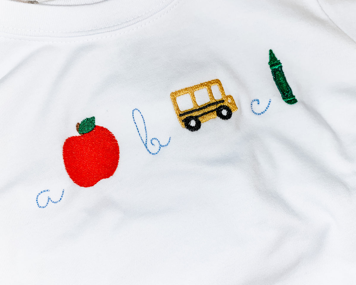 ABC - Sketch Embroidery