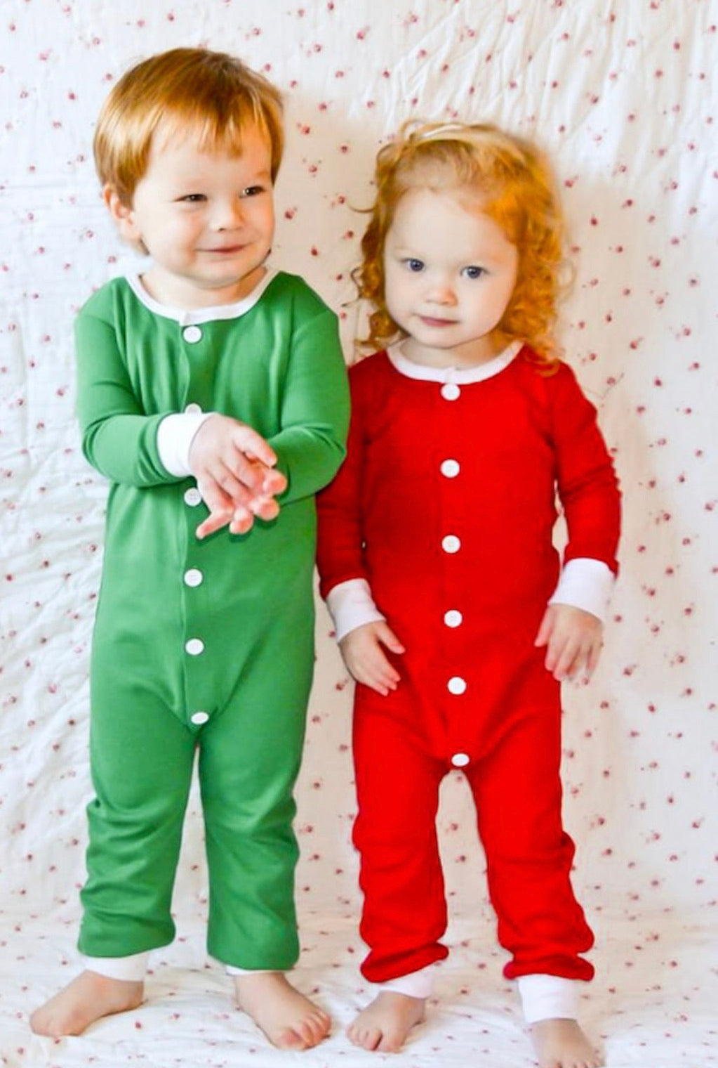 Unisex Faux Booty Flap Christmas Jammies
