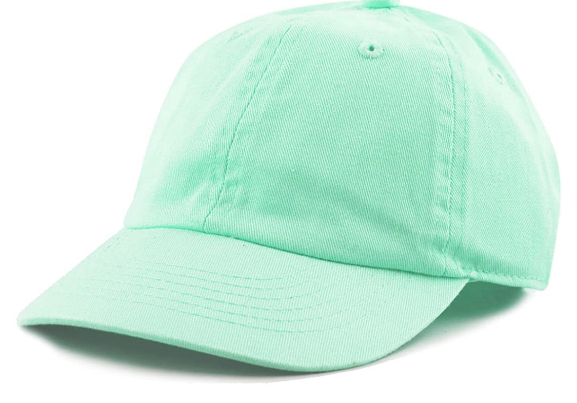 Kids Baseball Hat (Variety of Colors)