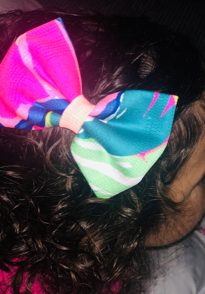 Seaside - Bow, Headband, Hair Tie or Dog Collar Bow