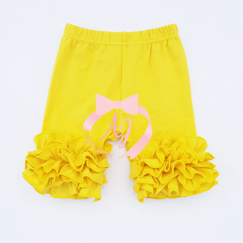 Yellow Icing Shorts