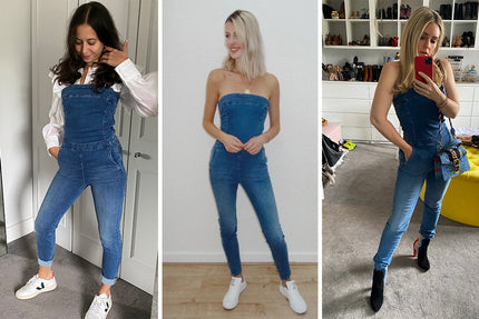 Donna Ida Thornton on how to style Olivia The Strapless Denim Jumpsuit