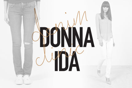 IDA TV - How to wear Straight Leg Jeans