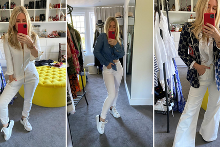 Donna Ida Thornton on How to Wear White Denim