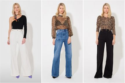 Introducing Minnie the Flared Jeans in Eternal Lightness