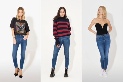 The best skinny jeans: Rizzo the Ankle Skinny