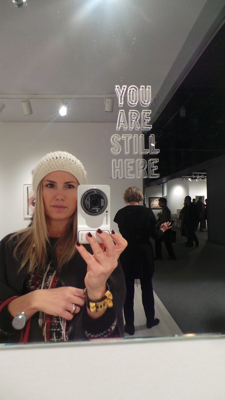 donna ida, new york, armory show, london fashion, london style, street style